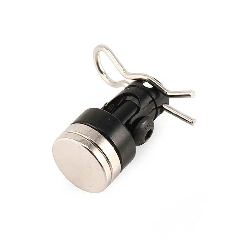 Soporte del poste del cuerpo Invisible sigilo magnético, columna de Contacto + Clips, 2 canales, carcasa de coche de control remoto Solar, columna casi lista
