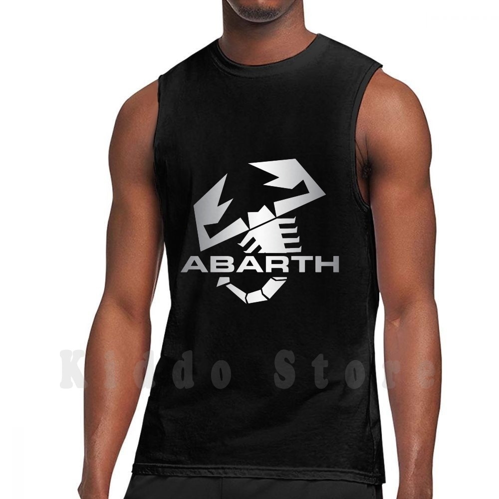 Abarth Cutocars tanque tops chaleco sin mangas Fiat 131 Abarth 695 Fiat...