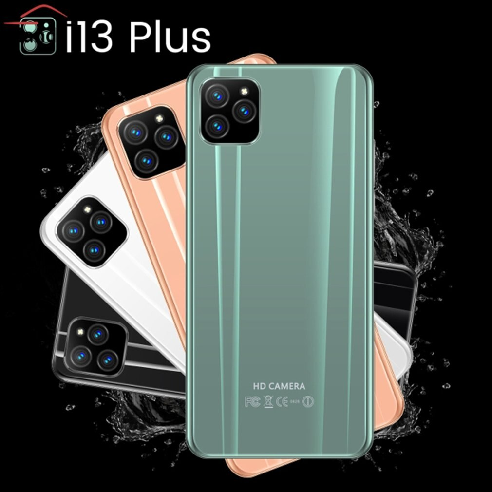 I13 Plus 5.8 Inch Smartphone 4G+512M Flash Memory Smartphone Android Smartphone 8Mp Front Camera 16Mp Rear Camera enlarge