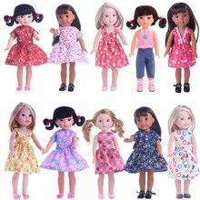 Puppe Kleid Kleidung Geeignet Für 14,5 Zoll Nancy Puppe Sommer Hübsches Kleid Mädchen der Geschenk, unsere Generation Mädchen Spielzeug, Weihnachten Präsentieren