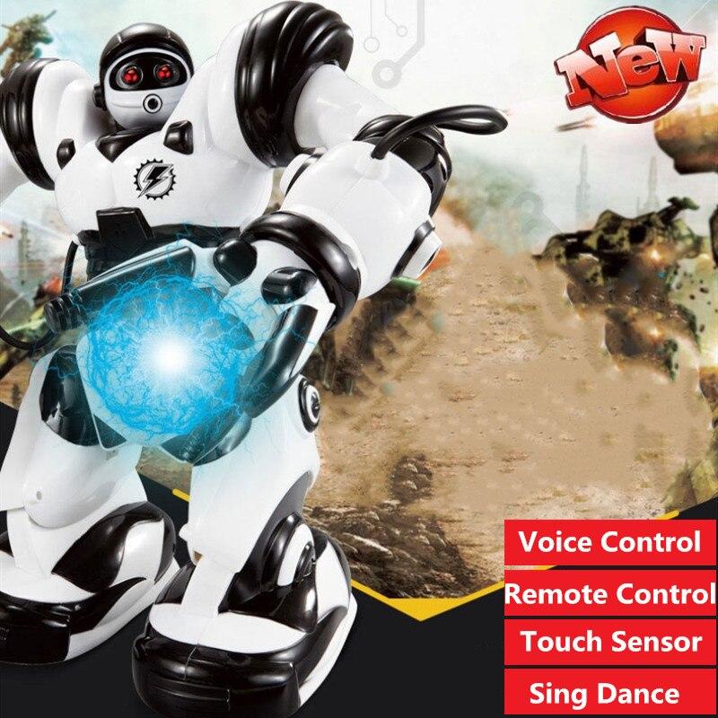 Robot de Control remoto inteligente, juguete con Control de voz, Sensor táctil, Control táctil, juguete, Robot, juguete para bailar, Robots de Control remoto