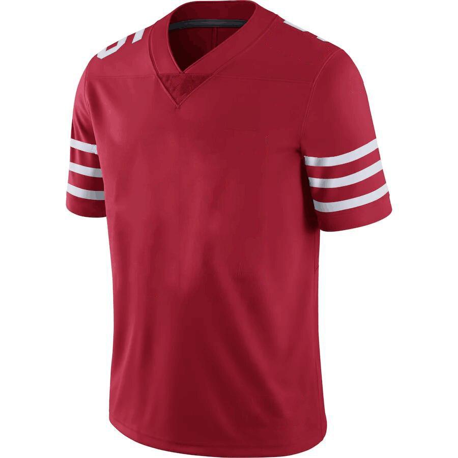Мужские футболки для американского футбола с принтом «стежок Сан-Франциско», спортивные футболки для фанатов Garoppolo KAEPERNICK Kittle T.LANCE