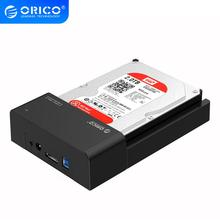 ORICO Tool-Free USB 3.0 Hdd Case eSATA to 2.5 3.5 Inch SATA External Hard Disk Drive Docking Station HDD SSD Enclosure Box