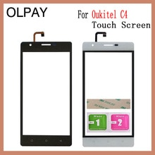 Oukitel C3 C4 C5 C8 C9 C11 프로 터치 스크린 디지타이저 센서 외부 유리 렌즈 패널에 대 한 휴대 전화 터치 패널