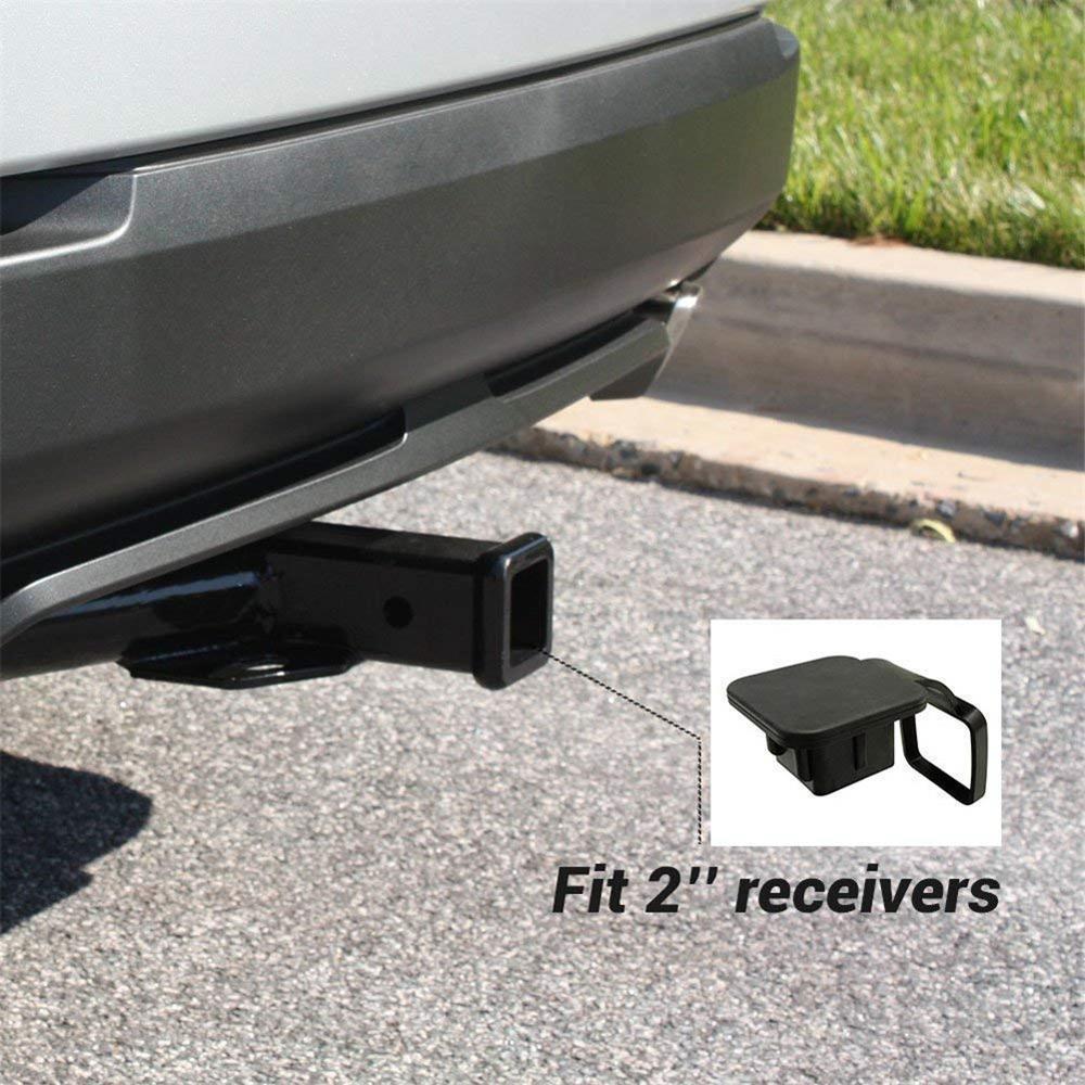50 мм x 50 м крышка буксирного крюка для Ford Jeep Chevrolet 1 шт. 2 дюйма крышка приемника сцепного устройства автомобильного прицепа резиновые крышки з...