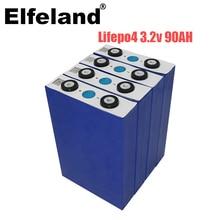 2020 nouveau 6 pièces 3.2V 90Ah lifepo4 batterie non 100ah 12V180Ah 24V90Ah pour EV RV batterie solaire bricolage US EU FREE UPS ou FedEx