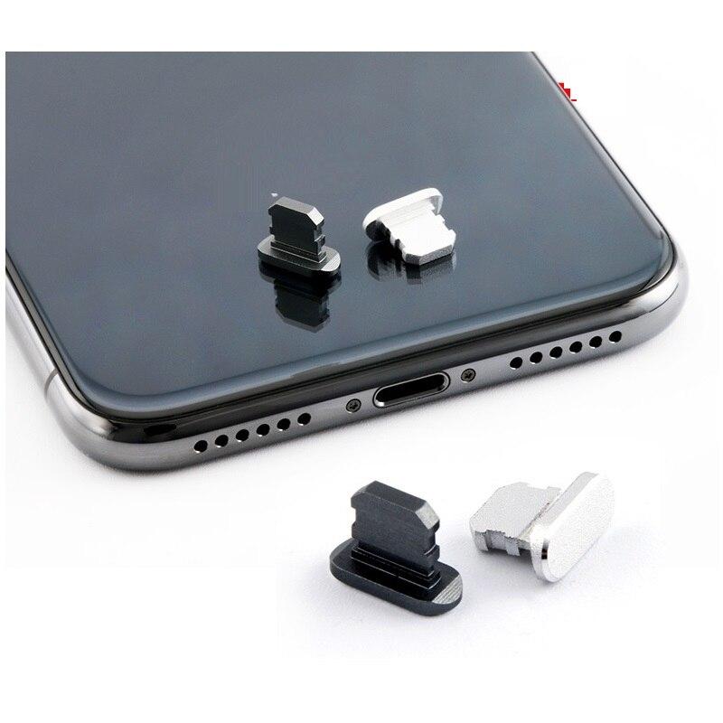 Пылезащитный чехол, алюминиевый сплав, портативное металлическое пылезащитное зарядное устройство, док-станция, пробка, крышка для iPhone 11 X XR Max 8 7 6S Plus-2