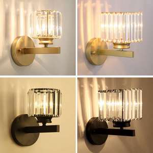 Crystal Wall Lamp Bedroom Lamp Living Room Lamp Study Room Lamp Dining Room Home Indoor