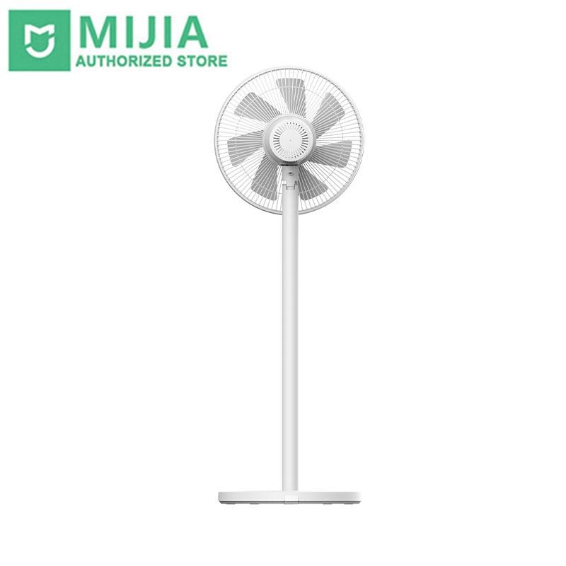 Ventilador de Refrigeração Xiaomi Mijia Suporte Elétrico Inteligente Controle Remoto 7 Penas Folhas 15 Metros Longa Distância Fornecimento ar Poupança Energia