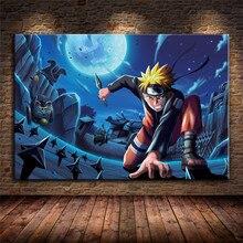 Affiches avec Anime Naruto pour décoration pour la maison, affiche de haute qualité, peinture sur toile, Art mural, sans cadre