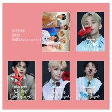 KPOP 4PCS/SET EXO Stray Kids TFBoys Twice GOT7 Poster Wall Banner Wall Decor XIUMIN ROY  21*30CM