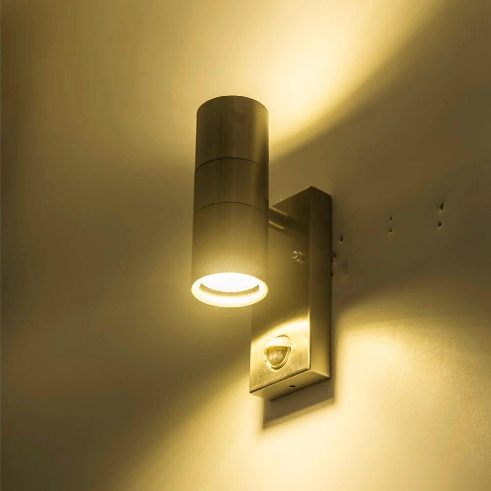 Luces de pared con Sensor, lampara de pared con movimiento de induccion para Patios, hoteles, ciudades, pasillo, patio enlarge