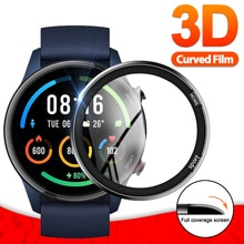 3D Soft Fibre Glass Protective Film Cover For XiaoMi Watch Color Sports Full Screen Protector Case f