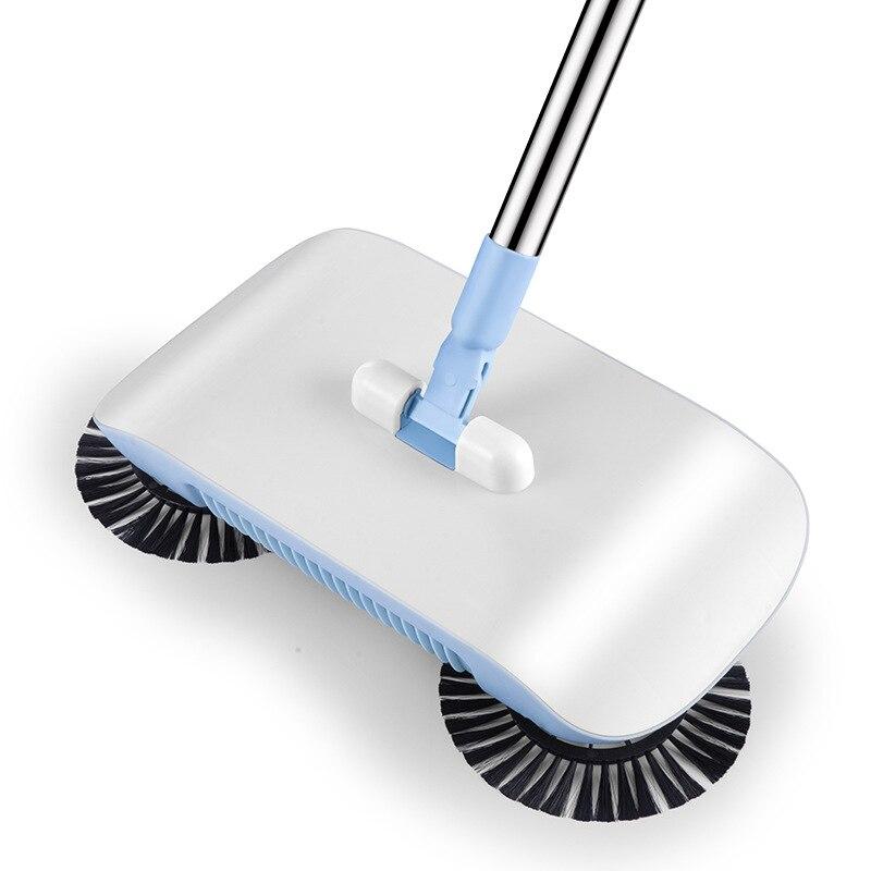 Hand Push Type Automatic Sweeper Lazy Sweeping Dust Broom Floor Tile Sweeper Floor Mop Machine
