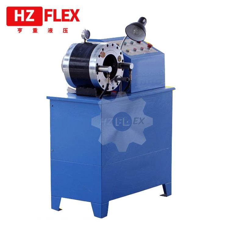 شحن مجاني إلى روسيا 380v 3kw 2 بوصة HZ-50D متعددة الوظائف الكهربائية الهيدروليكية خرطوم المكشكش خرطوم آلة الضغط على المبيعات