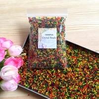 Sachet de 10 000 perles deau Orbiz pour la decoration de mariage  boules deau grossissante en polymere  gel hydrogel en cristal  fleurs  grand decor pour la maison