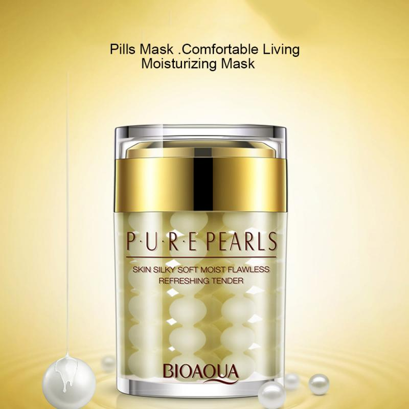 Hotsale BIOAQUA Pure Pearls Face Cream Skin Care Whitening Efficient Moisturizing Face Care Skin Car