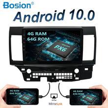 Lecteur multimédia de voiture 8 core 64 go ROM   Android 10.0 ForMitsubishi 1din autoradio, gps navigation, Bluetooth OBD DAB, Wifi SWC