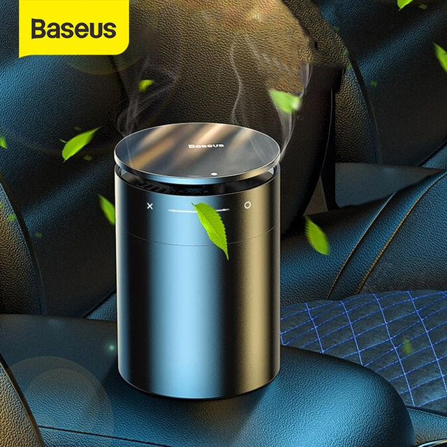 Baseus Car Air Freshener Diffuser Auto Perfume Aromatherapy Ions Formaldehyde Air Cleaner Flavoring For Car Freshner Perfume