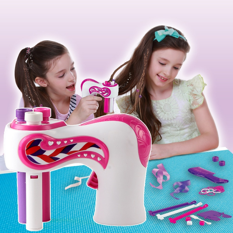 Automatic Hair Braider Electric DIY Hair Weave Machine Twist Knitting Roll Twisted Braiding Hair Styling Tools Girl Gift