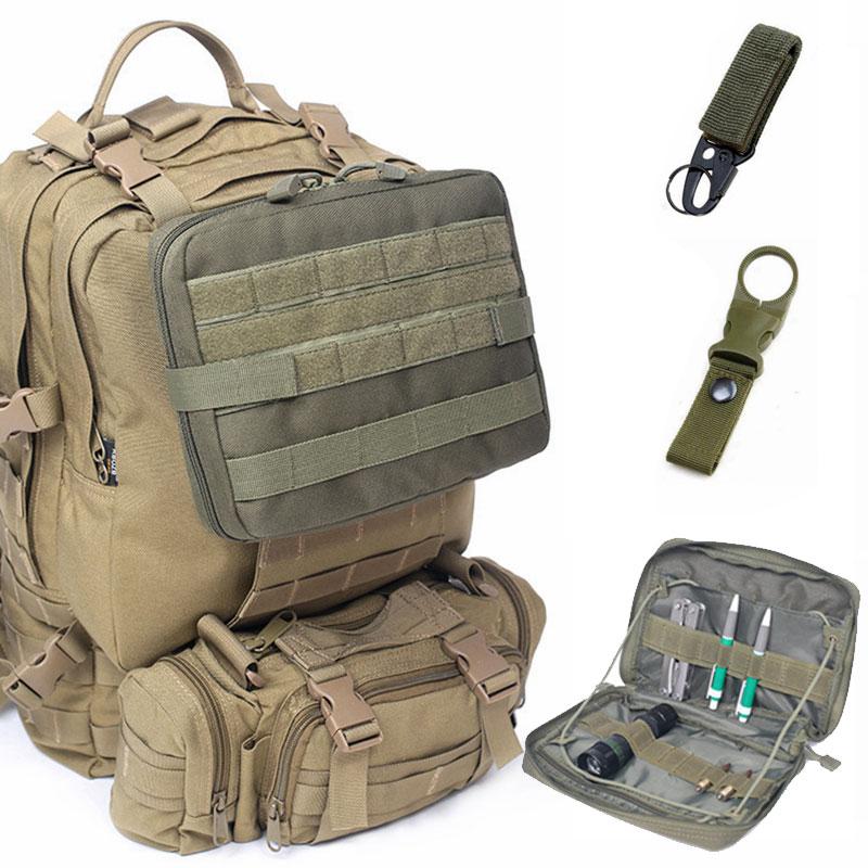 Bolsa táctica Molle ejército militar Airsoft mochila senderismo viaje teléfono médico EDC bolsa al aire libre deporte Camping almacenamiento Accesorios