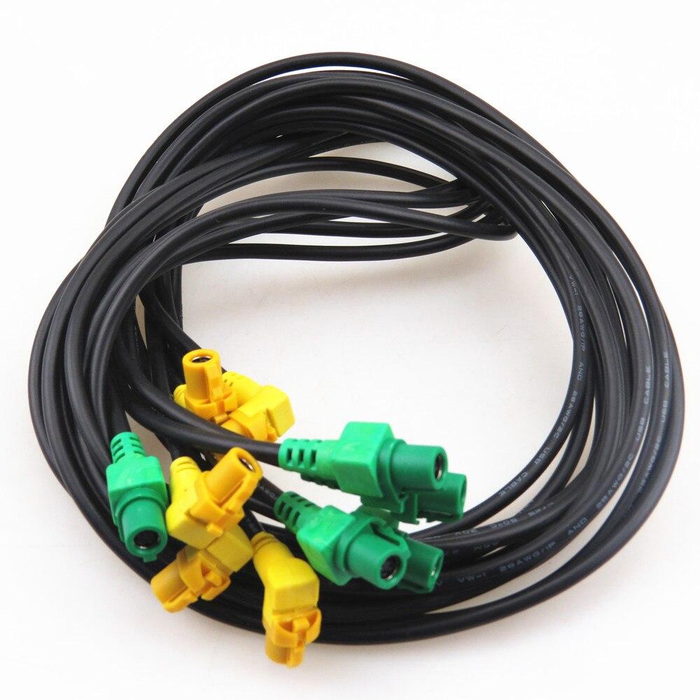 FHAWKEYEQ Auto USB Schalter Verbindung Harness RNS 315 RCD 310 RCD 510 Für VW Golf MK6 Jetta MK5 Scirocco KD 035 726 EINE 5KD035726A