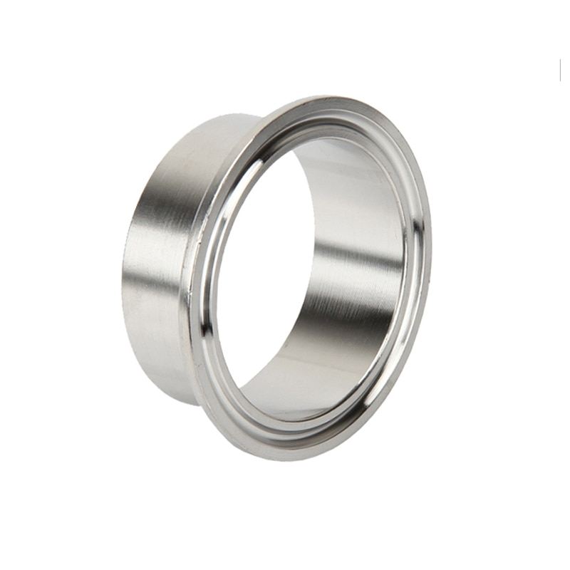 114mm Pipe OD- 219mm Pipe OD Sanitary Pipe Weld Ferrule Tri Clamp Type Stainless Steel Flange SUS 304 a set 38 51 63 76 89 102 pipe o d sanitary tri clamp weld ferrule tri clamp silicon gasket 304 stainless steel for homebrew