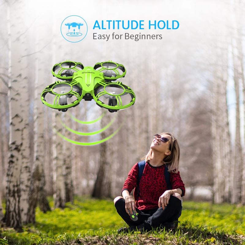 E016H Mini Drone ، صيانة الارتفاع ، مقطوعة الرأس ، وقت طيران 8 دقائق ، 2.4G RC Quadcopter RTF RC ، طائرة هليكوبتر للأطفال ، هدية لطيفة