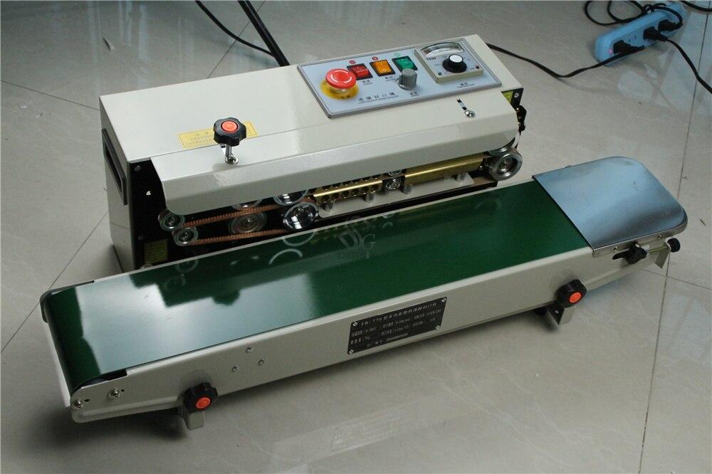 Bolsa de embalaje laminada de papel de aluminio eléctrico de FR-770, bolsa de plástico continua automática y Horizontal de FR-770