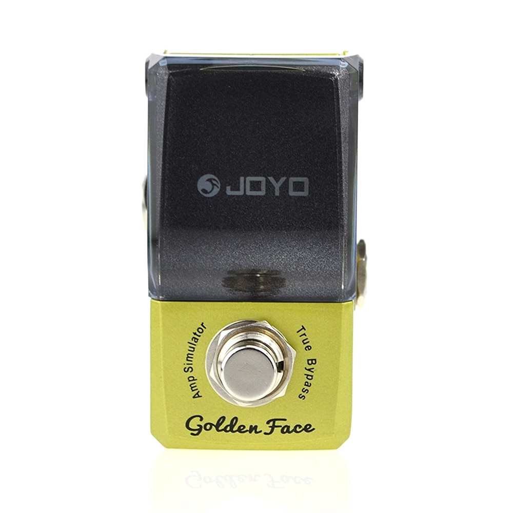 Joyo Jf-308 Electric Effects Overdrive Support for Footswitch Marshall Simulator Guitar Pedal Overdrive Golden Face Jmc Amps enlarge