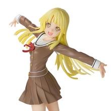 Anime 1/8 Skala Painted Abbildung BanG Traum! Mädchen Band Party! Hallo Glückliche Welt Ver. Kokoro Tsurumaki Aktion PVC Figur Spielzeug 21CM