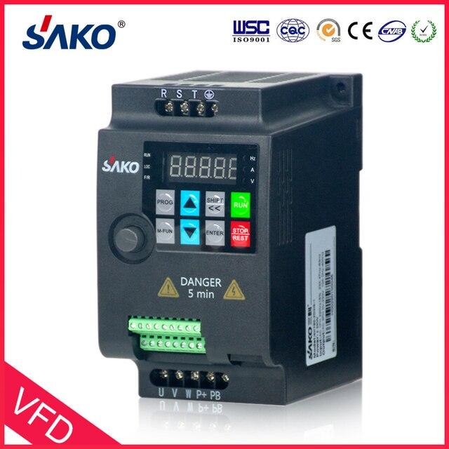 SAKO SKI780 380V 0.75KW/1.5KW/2.2KW Mini VFD Variable Frequency Inverter for Motor Speed Control Converter 2