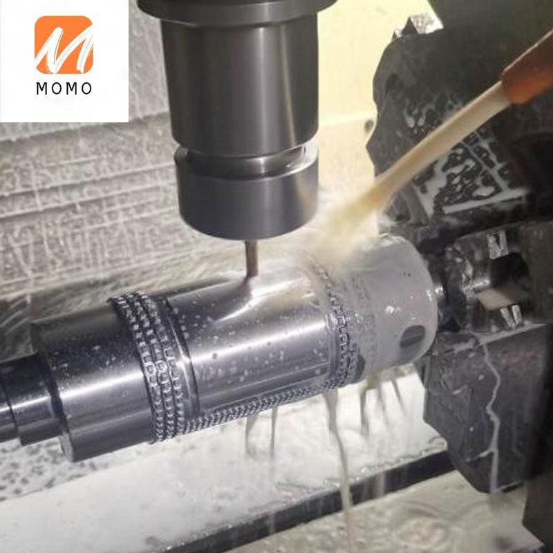 Станок для изготовления запчастей с ЧПУ, вращающийся вал для накатки