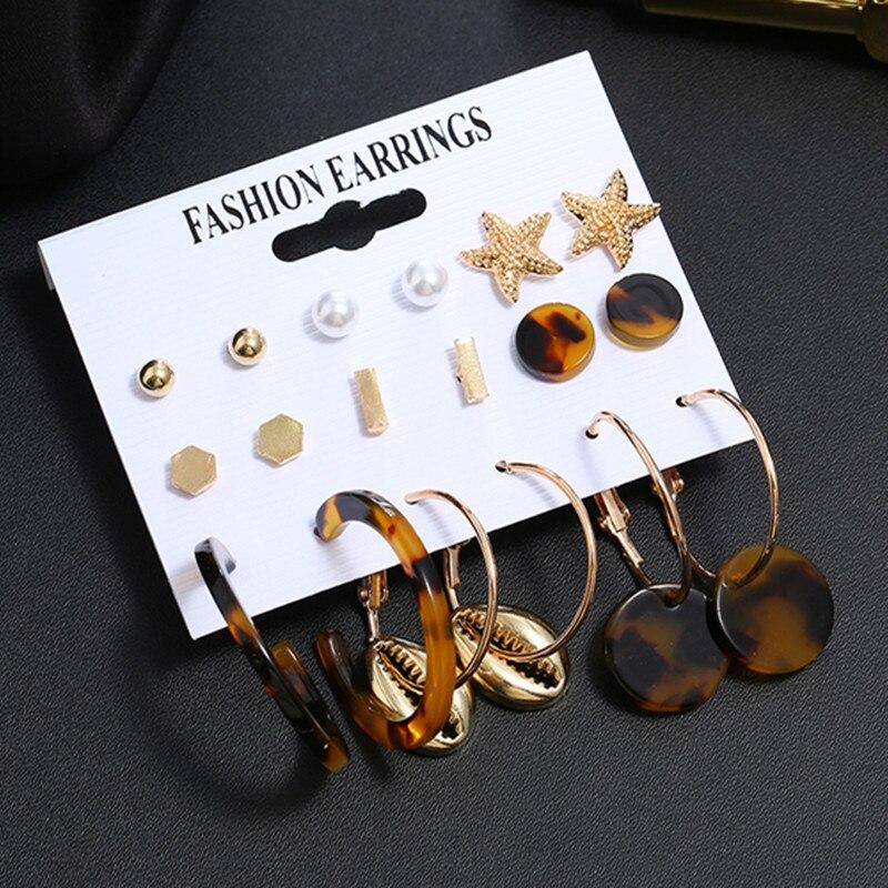 MINHIN moda borla pendientes colgantes para mujeres geométrico oro círculo declaración joyería pendiente boda Brincos