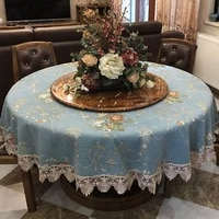 tablecloths on table living room tablecloth blue thickened washable christmas tablecloth fabric household table clothes
