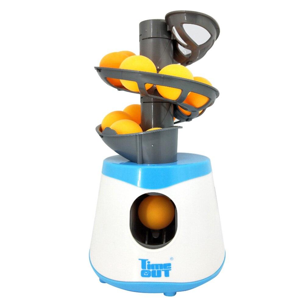 Equipo Pong lanzador automático al aire libre portátil accesorios profesional jarra entrenador Tenis de Mesa máquina de pelota de ejercicio