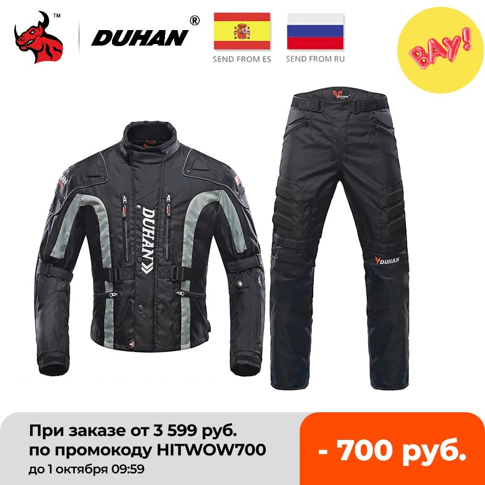 DUHAN-سترات واقية من البرد للدراجات النارية ، وسترات موتوكروس ، وجوارب إندورو ، وملابس السباق