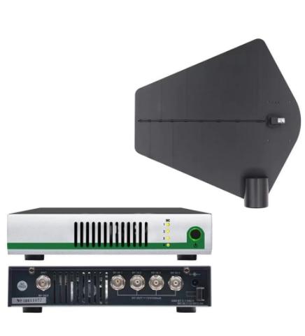 Som 500-950MHz UHF نظام لاسلكي Ctive الارسال الموحد في الأذن رصد ميكروفون هوائي مكبر صوت أحادي