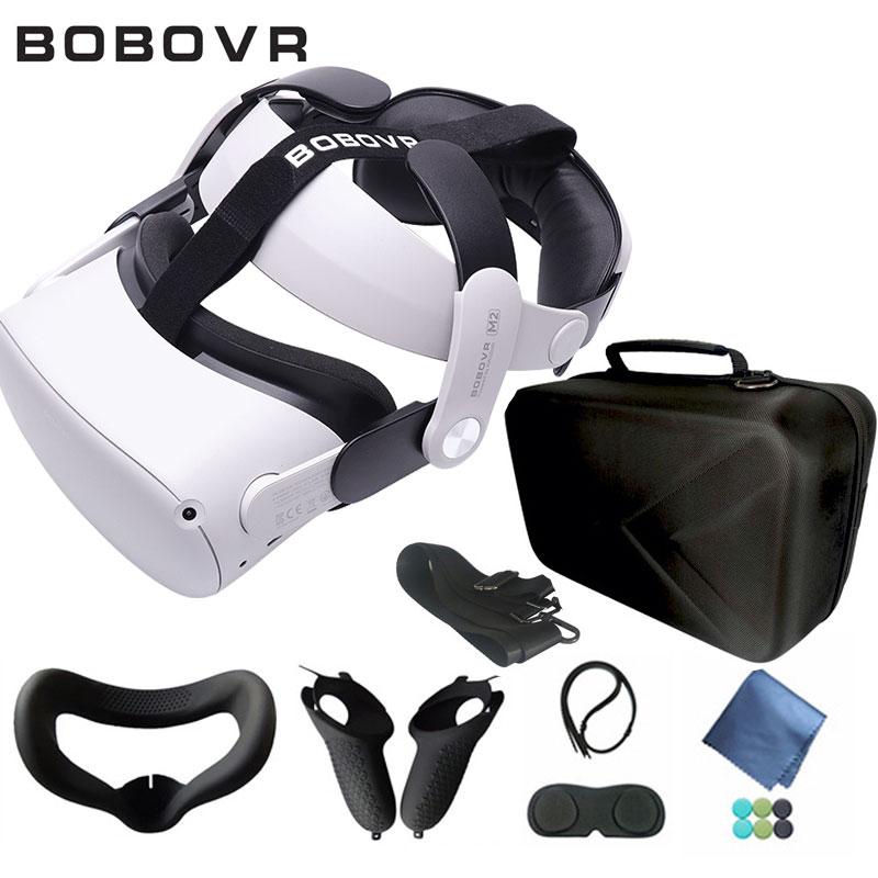 BOBOVR-correa ajustable de Halo M2 para Oculus Quest 2, Correa cómoda de...