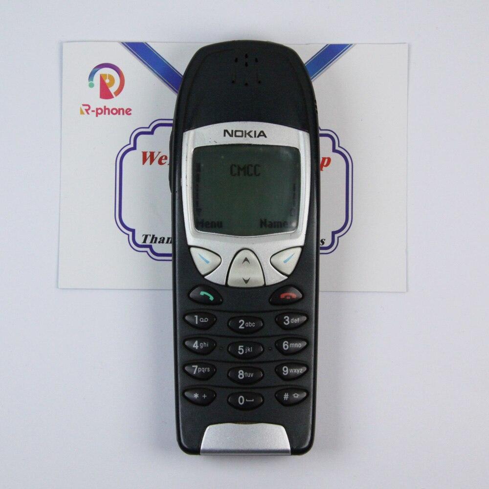 Original nokia 6210 telefone 2g gsm 900/1800 desbloqueado usado telefone