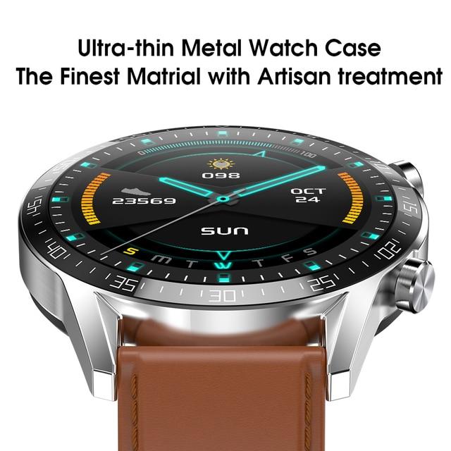 Ipbzhe Smart Watch Men 2021 Android IP68 ECG Smartwatch Men Sports Reloj Inteligente Smart Watch For Phone Iphone Android Huawei 2