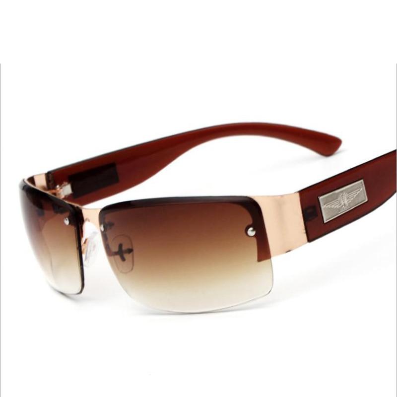 Men Women Fashion Glasses Brand Designer Retro Frame Vintage Sunglasses High Quality UV400 Square Me