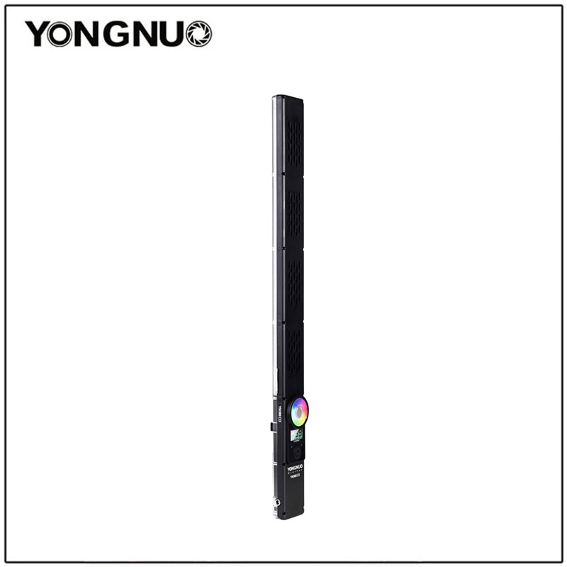 Yongnuo III YN360III YN360 Handheld 3200K-5500K RGB Colorido Vara Gelo LED Video Light Touch Ajuste Controlado pelo Aplicativo de Telefone