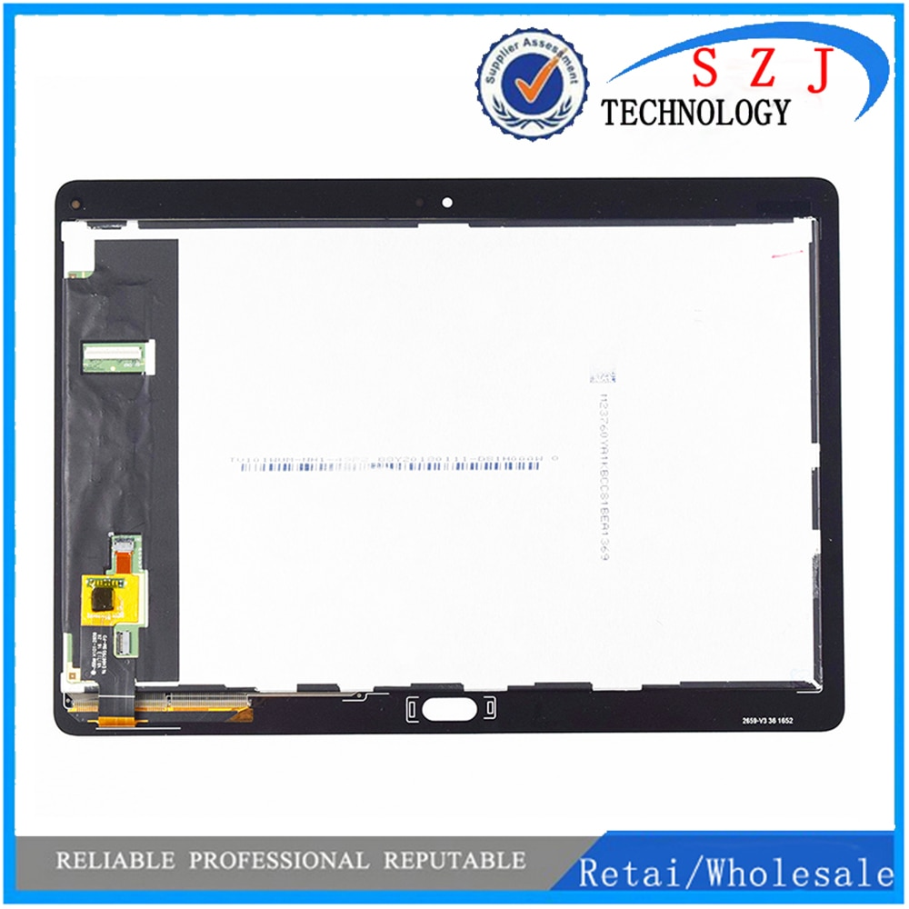 Novo 10.1 para huawei mediapad m3 lite 10 BAH-AL00 BAH-W09 BAH-L09 display lcd matriz de tela toque digitador assembléia sensor