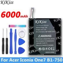 6000mAh para Acer Iconia One 7 B1-750 batería de repuesto recargable li-polymer Tab AP14E8K