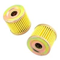 2pcs motorcycle oil filter for suzuki alt125 alt185 lt z90 lt125 lt185 df9 9 15 150 dr100 sp100 an125 cs125 dr125 gn125 gs125