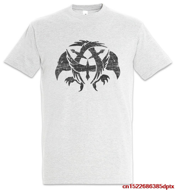 Camiseta de los cuervos vikingos Odin Hugin y Munin Valhall Thor Valhalla Raven Odhin