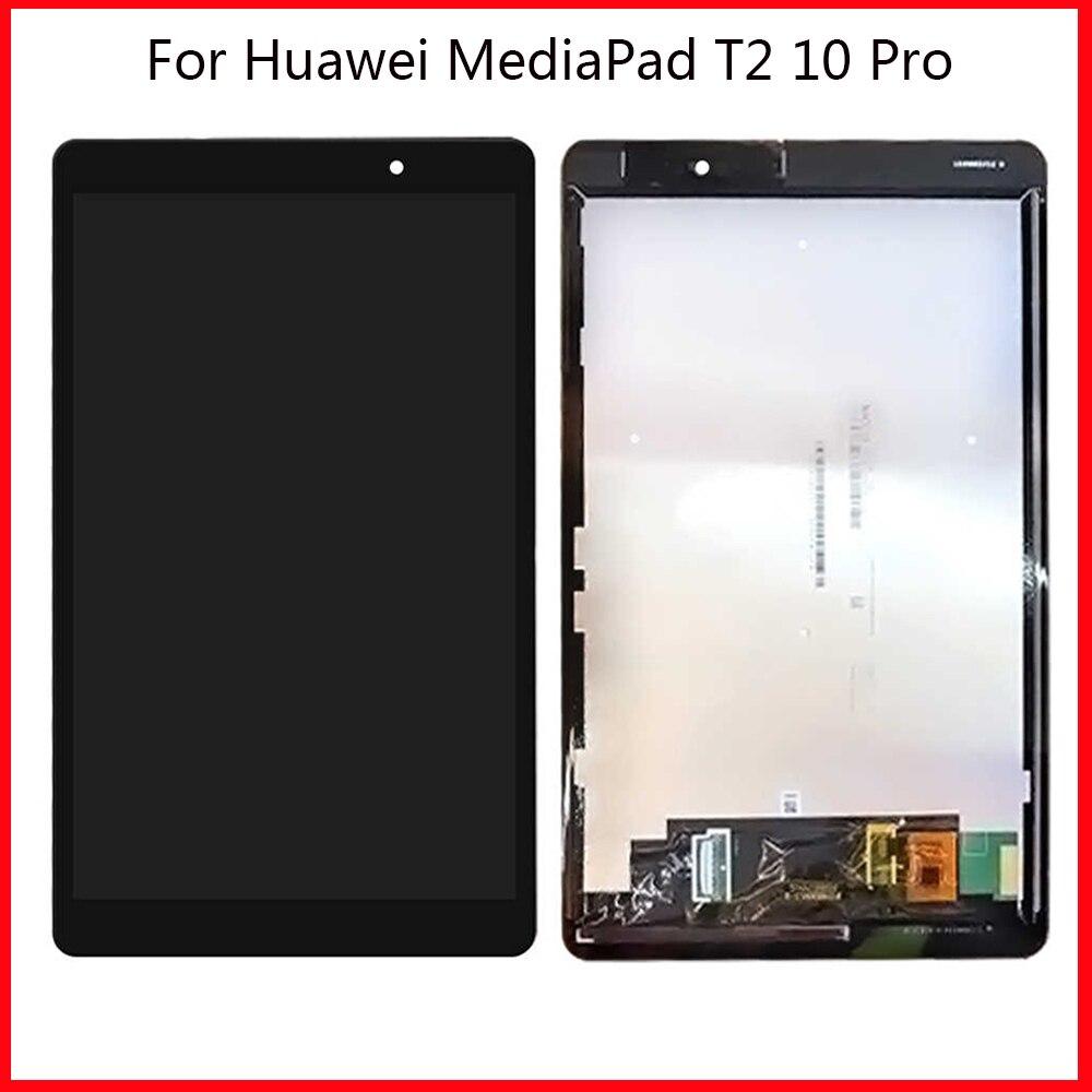 LCD para Huawei MediaPad T2 10,0 Pro FDR-A01L FDR-A01W pantalla LCD táctil digitalizador Asamblea marco para Huawei T2 10 Pro LCD