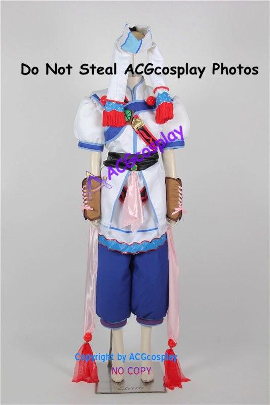 Grandia II Elena cosplay kostüm umfassen perlen ketten ornamente acgcosplay kostüm