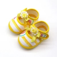 0 18 months baby girls shoes infant first walkers toddler girls kid soft cotton summer bow anti slip crib girl newborn shoes